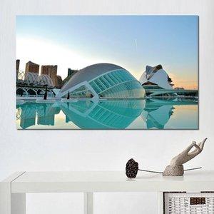 Poster moderno architettura valencia costruzione Stampe su tela Wall Canvas Art Prints no frame