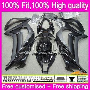 Injection For KAWASAKI ZX 10 R ZX1000 ZX10R 11 12 13 14 15 Glossy black 67HM.1 ZX 10R 1000CC ZX-10R 2011 2012 2013 2014 2015 OEM Fairings