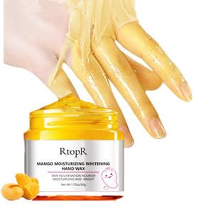 Crema trattamento RtopR Mango idratante a mano di cera che imbianca la pelle della mano riparazione Pelle esfoliante Calli Film mano