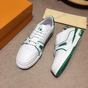 Louis Vuitton LV shoes 2020 heiße Qualitätsmänner Designer TRAINER Freizeitschuhe der Männer stricken Unterwäsche Freizeitschuhe Größe 36-45 Xshfbcl