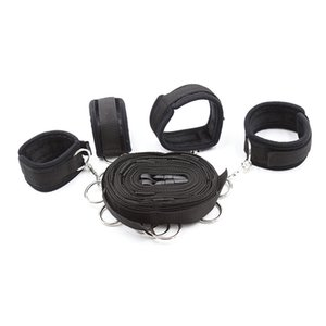 BDSM Restrain BDSM Love Design Gear System Play Love Worldwide Simple Couple Black Kit Fetish Play item Bed 무료 배송 QVMI