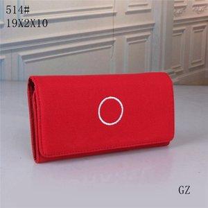 Handtasche Mode Lange Kupplung Rote Geldbörse Koreanische Designer Kupplung Lange Lady Französisch Weibliche Nette Student Canvas 2020 Neue Tasche Tasche Lhuks