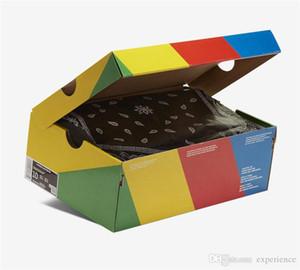 Orijinal Otantik SB Dunk Düşük Travis Scott Düzenli Kutu Cactus Jack Black Paraşüt Bej Petra Kahverengi CT5053-001 Man Ayakkabı Sneakers Koşu