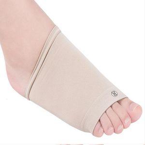 2pcs GEL fascite plantar Arch Suporte luva Almofada Foot Pain ortopédicas calcanhar Palmilha