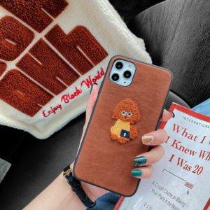 perro de dibujos animados mochila iphone11Pro caja del teléfono móvil adecuada para Apple XsMax bordado dos-en-uno cubierta protectora punto fabricante wholesa