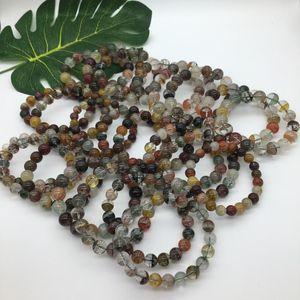 Four Seasons Ghost bracelet fortune full color ghost green crystal single ring bracelet подарок на день рождения для мужчин и женщин