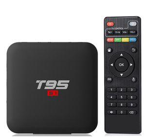 T95 S1 Android 7.1 TV BOX доступны 1G + 8G / 2GB + 16GB Amlogic S905W Quad Core 2.4G беспроводной интернет