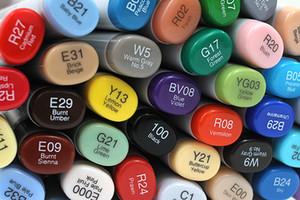 Marqueurs Copic Sketch 358 Couleurs Art original Pinceau professionnel marqueur Stylos Japon Lien 2