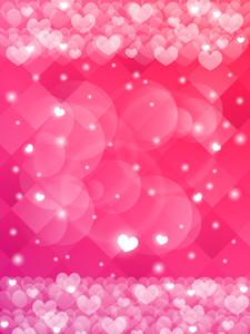 Valentines Day Bokeh Spots Corações Vinyl Fotografia Backdrops romântico rosa Photo Booth Fundos de casamento Estúdio Props
