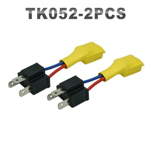 JGAUT 2 Pieces H4 Acessórios Car transferência negativa Switch / Negative Canbus / vazamento elétrico Eliminator Decoder