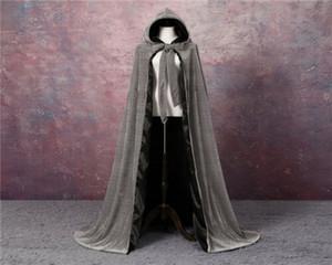 Terciopelo chaquetas de boda vintage capas capas de abrigo nupcial largo tapa accesorios de boda retro novia boda terciopelo cloa