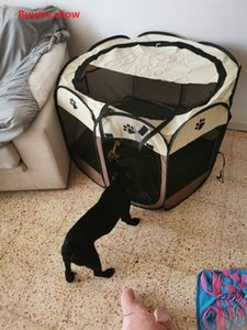 Playpen for Dogs Portable Kennels Fences Pet Tent Houses For Small Large Dogs Foldable Indoor Puppy Cage Dog Crate Delivery Room