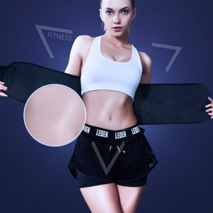 Sports Weight Loss Waist Belt Trimmer Slim Sweat Band Adjustable Lumbar Brace Support Gym Accessories Weightlifting Training