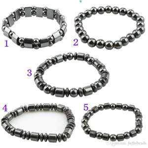 Men Women Black Magnetic Hematite Bracelet Fashion Accessorices Healthy Bracelets Jewelry Gifts