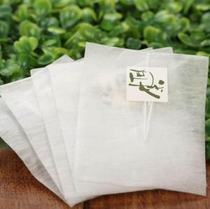 6000 stücke Maisfaser Teebeutel Pyramidenform Heißsiegelungsfilter Teebeutel PLA Biologisch Abbaubar Tee Filter 5,8 * 7 cm LX6065