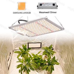 Grow Lights Dimmable Square Tablero LED Espectro completo 1000W 2000W 4000W Impermeable IP65 Para Tienda Invernadero Sistemas hidropónicos DHL