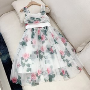 New Girl Summer Dress Kids Girls Wedding Princess Lace Flower Dresses Toddler Party Sundress