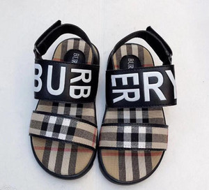 Zapatos de playa de suela blanda para niños Nueva edición de verano y edición de Han 2009 Zapatos de playa con suela plana de suela plana