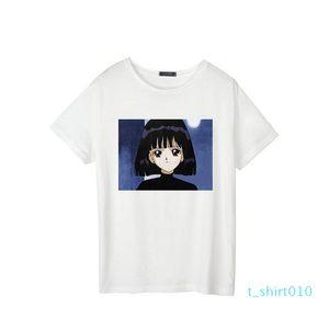 Summer short-sleeved Harajuku large size casual ulzzang cute loose female short-sleeved T-shirt cartoon Sailor Moon T-shirt t10