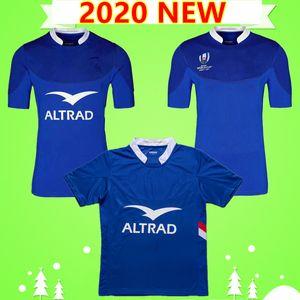 S-5XL yeni 2020 fransa rugby formaları milli takım ANA mavi Lig gömlek 19 20 POLO tişört MEN'S Word Cup En kaliteli 2019 2020