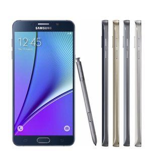 Rinnovato Samsung Galaxy Note 5 N920A / T Octa Nucleo 5.7inch 4GB di RAM 32GB 16.0MP ROM LTE 4G Android Smartphone sbloccato MobilePhone