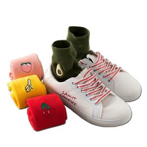 Motif de dessin animé mignon féminin classique dans des chaussettes en tube Chaussettes empilées de style européen et américain Matériau en coton ne fait pas mal aux pieds