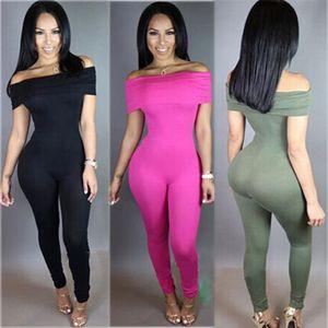 Nuevo de las mujeres de Clubwear del partido ajustado de los pantalones de verano Playsuit pantalones del mono