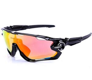 Sıcak 2019 erkekler kadınlar motion polarize rüzgar geçirmez sürme gözlük gece görüş 4 lensler, spor rüzgar geçirmez bisiklet koruyucu dişli gözlük gözlük