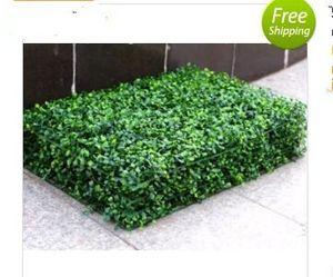العشب الاصطناعي خشب البقس البلاستيك شجرة حصيرة توبياري ميلان العشب للحديقة، المنزل، النباتات الاصطناعية زينة الزفاف MYY 13