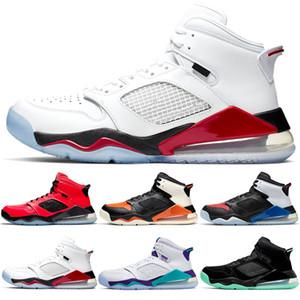 Nike Air Jordan Mars 270 Erkek Kadın Koşu Ayakkabıları Çekirdek Üçlü Siyah Beyaz Buğday Gri Oreo Ucuz Erkekler Tasarımcı Eğitmen Spor Sneaker Boyutu 36-45
