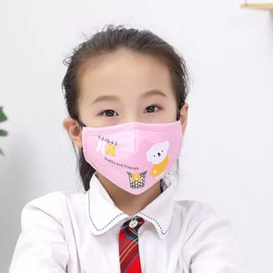 High-grade cotton quality beautiful child mask comfortable mask three-layer fashion  mask adult dust cover