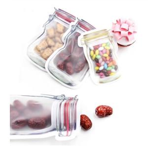 5pcs / lot 편리한 PE Mason 병 가방 견과류 쿠키 캔디 스낵 봉인 된 비닐 봉지 홈 인테리어 스토리지 용품
