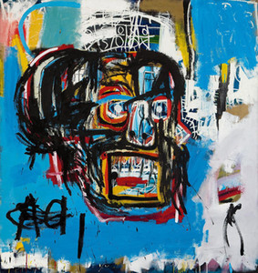 UNTITLED 1982 HEAD by JEAN-MICHEL BASQUIAT Home Decor Handcrafts  HD Print Oil Painting On Canvas Wall Art Canvas Pictures 200302