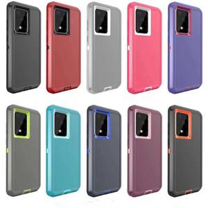 Per iPone 11 Samsung S20 S8 S9 S10 Inoltre note10 9 ibrida Robot antiurto Custodia impermeabile Defender Vieni con clip da cintura di trasporto