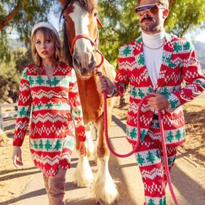 Kış Elbise V yaka Uzun kollu Tasarımcı Parti Formal Elbise XMAS Kadınlar Geyik