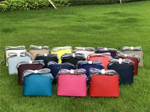 18 Renkler KS çanta kabuk çanta PU Deri Omuz Kemer Tote çanta Çanta El Çantaları Messenger Çantası Fermuar Bel Fanny En iyi C41701