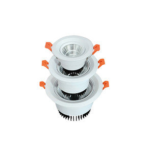 Dimmable LED giù luce 3W 7W 18W 30W Riflettori AC 110V 110V la lampadina LED da incasso soffitto lampada lampada interna
