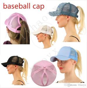 Venta al por mayor Hot Ponytail Gorra de béisbol Sra. Ponytail Hat Chica de moda Sombrero de baloncesto Chaleco Ponytail Hat