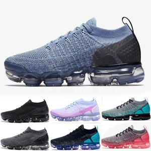 all'ingrosso 2018 Formatori tn pattini correnti degli uomini Donne Classic Outdoor Nero Bianco Sport Shock Jogging Walking Desingers Sneakers scarpe sportive