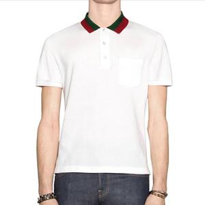 Biene Polohemden Mensentwerfer T-Shirts Modemarke Kleidung kurze Ärmel calssic Luxus T-Shirt-Qualitäts-Business Casual Spitzen T X-3XL