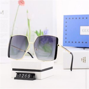 2020 Designers Sunglasses Luxury Sunglasses Stylish Fashion High Quality Polarized for Mens Womens Glass UV400 Free shipping050