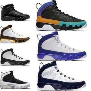 Üst 9 Erkekler Basketbol Ayakkabıları 9 s Rüya Bunu Yapmak UNC Bred Paspas Melo Uzay Reçel Mens Eğitmen Atletik Spor Sneakers Toptan