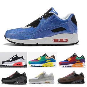 Nike Air Max 90 airmax ultra Essential Luft max BETRUE PRM MIXTAPE SIDE QS Viotech Frauen Männer Laufschuhe Sportschuhe