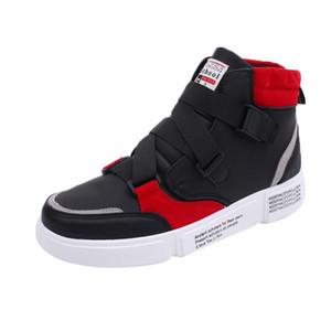 SAGACE Men's casualhigh to help fashion sports shoes autumn hip hop flat shoes men's trend outdoor shoes 2020