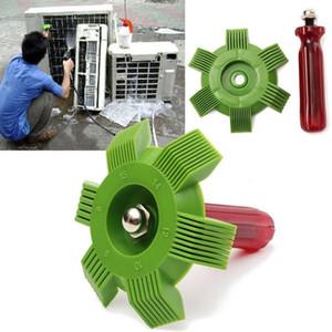 Air Conditioner Fin Repair Comb Condensador Radiator evaporador Limpo escova Straighten danificado Fins e remover detritos