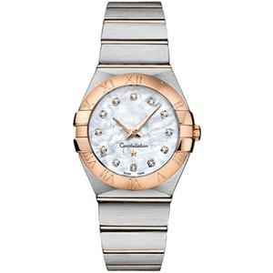 Constellation 123.20.24.60.55.001 Frauen klassische beiläufige Uhr-Spitzenmarken Luxuxdame-Quarz-Armbanduhr-Qualitäts-Art- Armbanduhr
