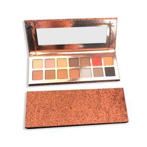 Natural 14 Color Makeup Eyeshadow Eye shadow Easy to Wear Shimmer Matte Mixed Eyeshadow Palette Waterproof Warm Eyeshadow Make Up palette