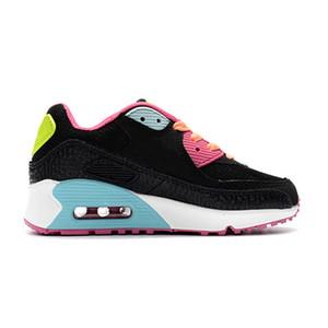 Nike air max 90 Hot Kids Sneakers Presto 90 II Schuh Kinder Sport Orthopädische Jugend Kids Trainer Infant Mädchen Jungen Laufschuhe 9 Farben Größe 28-35