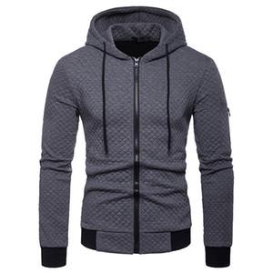 Mens Zipper Hooded Jackets Mens Designer Solid Giacche Moda Primavera Autunno a maniche lunghe tuta sportiva Mens