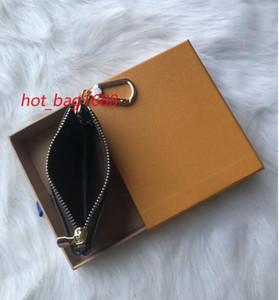 2020 bolsa de la llave Damier Mantiene alta calidad famoso clásico Holder Diseño Llave mujeres Monedero de Piel Money Key Monedero